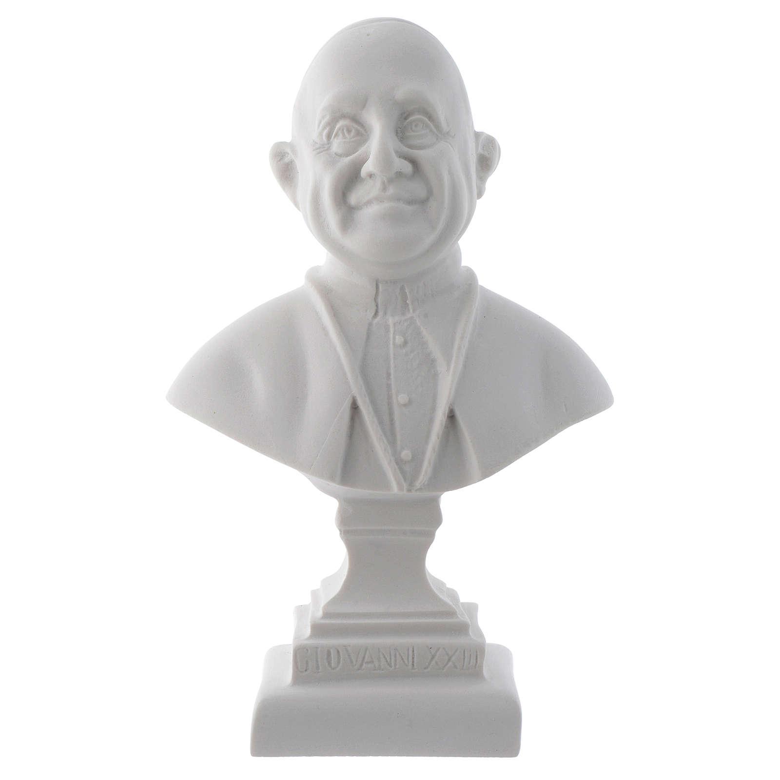 Buste Pape Jean XXIII 16 cm marbre 4