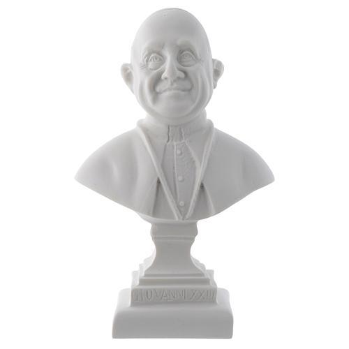Busto Papa Giovanni XXIII cm 16 marmo 1