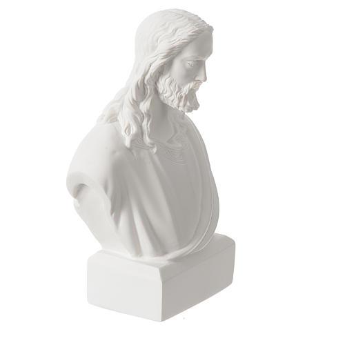 Buste de Jésus 19 cm marbre 2