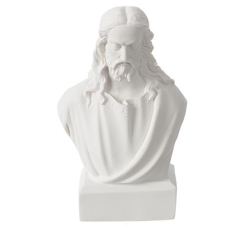 Busto di Gesù 19 cm marmo 4