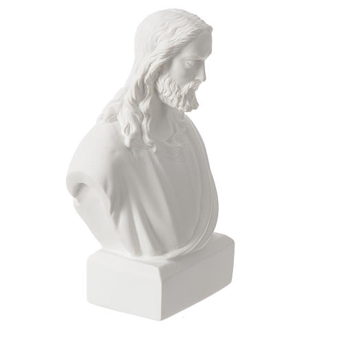 Busto di Gesù 19 cm marmo 5