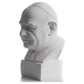 Buste Pape Jean XXIII 22 cm marbre s6