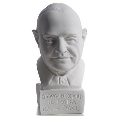 Busto de Papa João XXIII 22 cm mármore 4