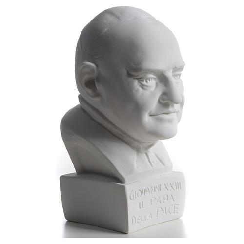 Busto de Papa João XXIII 22 cm mármore 5