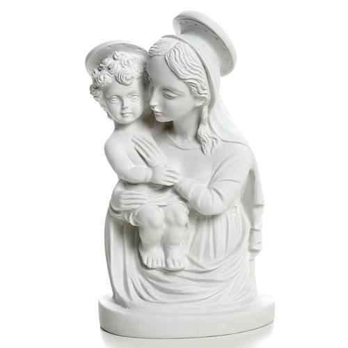 Rostro de la Virgen con el Niño 22 cm 1