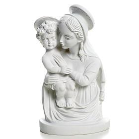 Popiersie Matki Bożej z Dzieciątkiem 22 cm s4