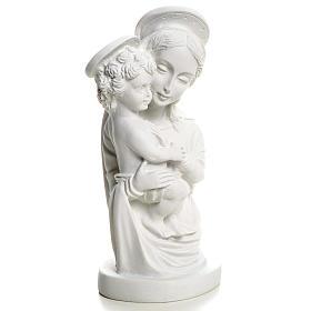 Popiersie Matki Bożej z Dzieciątkiem 22 cm s3
