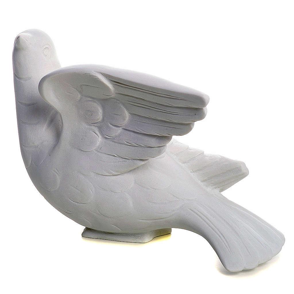 Gołębica zwrócona ku górze 15 cm 4