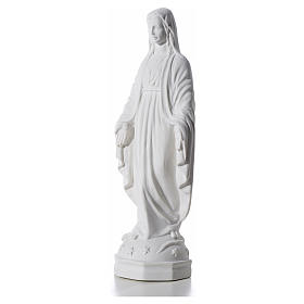Our Lady Immaculate bas-relief, reconstituted marble, 30cm s6