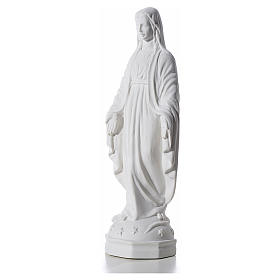 Virgen Inmaculada 30 cm Relieve Polvo de Mármol s2