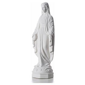 Statue applique Vierge Immaculée 30 cm marbre s2