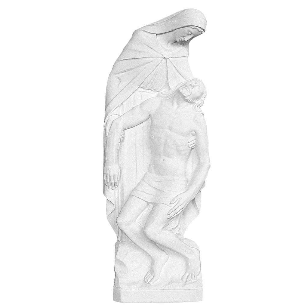 Applique Pietà de Michelangelo marbre 55-80 cm 3