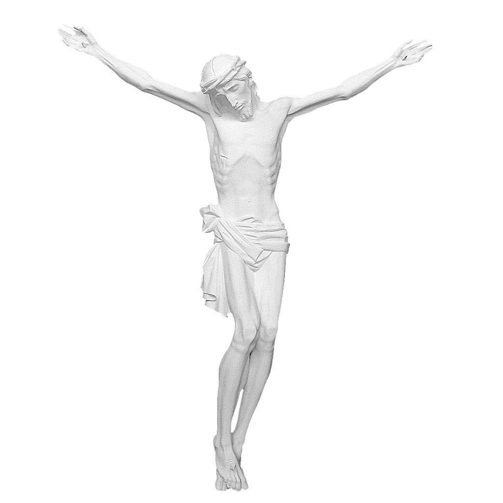 Appliqué Corps du Christ fibre de verre 80-150 cm 4