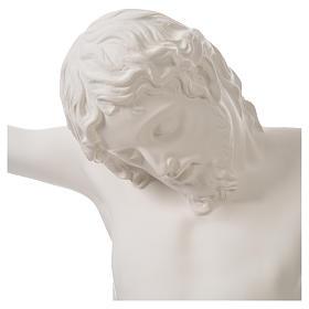 Crucifixo placa em fibra de vidro 90-120 cm s17