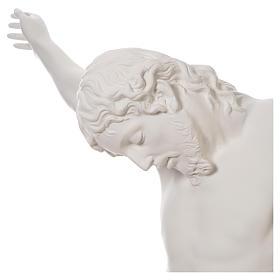 Crucifixo placa em fibra de vidro 90-120 cm s20