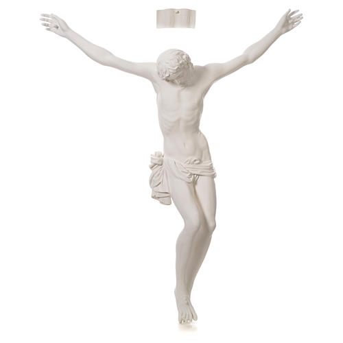 Crucifixo placa em fibra de vidro 90-120 cm 12