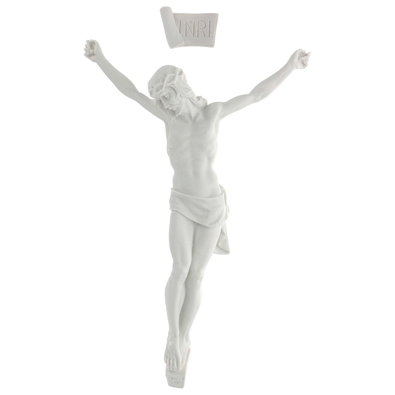 Corpo di Cristo marmo sintetico 50 cm 4