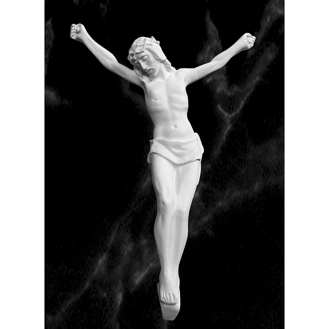 Christ's body, reconstituted marble statue 13-27 cm 4