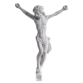 Christ's body, reconstituted marble statue 13-27 cm s5