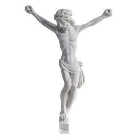 Christ's body, reconstituted marble statue 13-27 cm s2