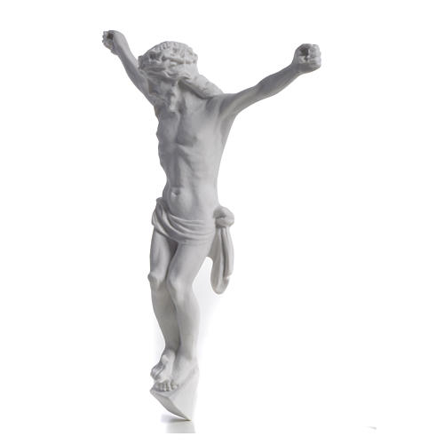 Christ's body, reconstituted marble statue 13-27 cm 7