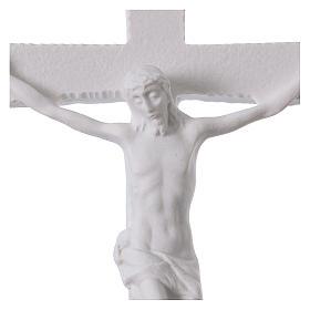 Crocifisso in marmo sintetico 25-31-43 cm