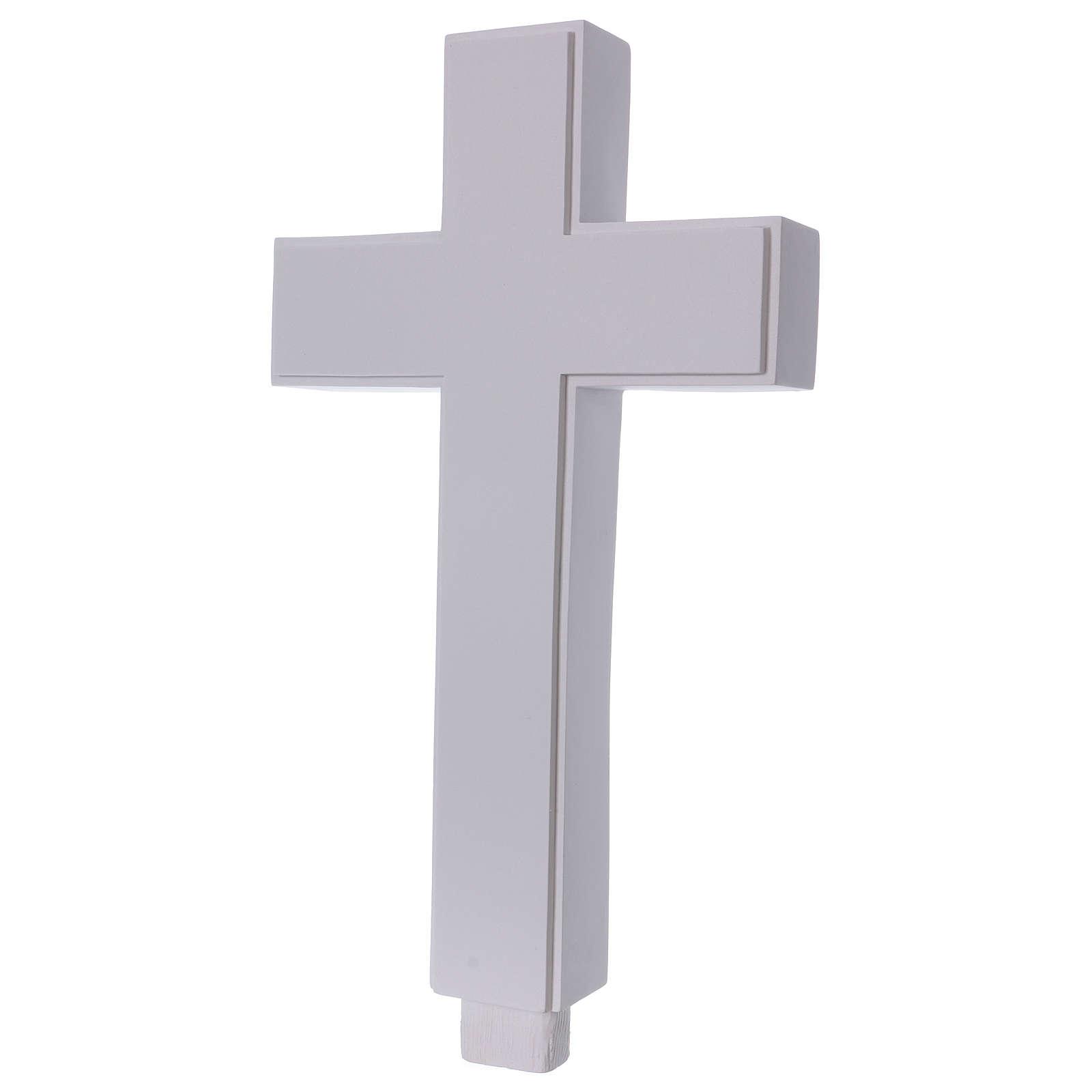 Croce per Grottesco 62 cm marmo sintetico 4