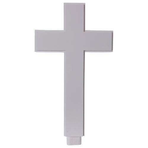 Croce per Grottesco 62 cm marmo sintetico 1
