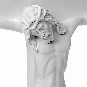 Escena de la crucifixión, mármol sintético s4