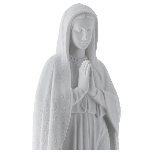 Our Lady of Guadalupe, 45 cm composite marble statue