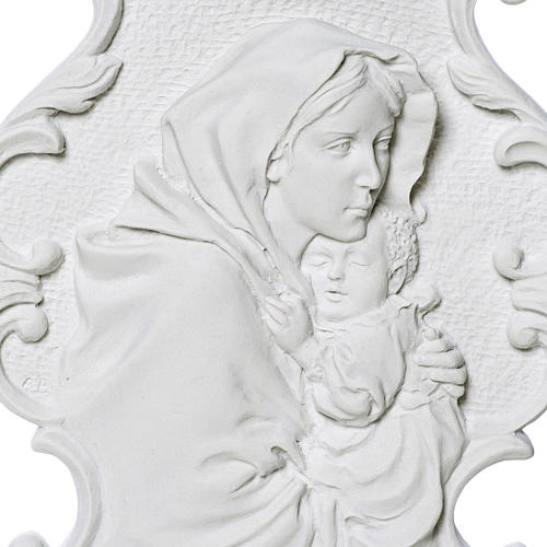 Madonna del Ferruzzi con cornice 31 cm rilievo 2