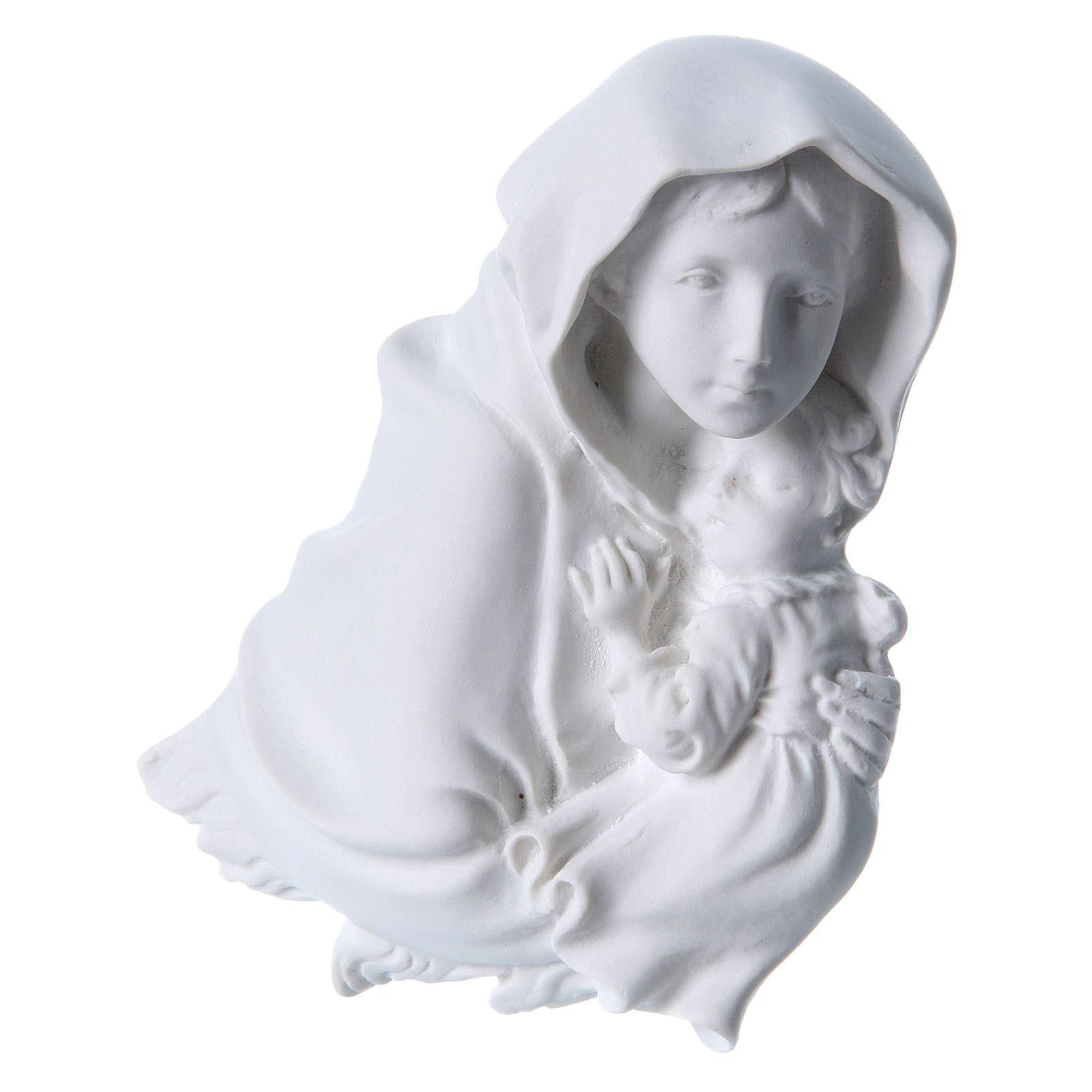 Madonna del Ferruzzi 15 cm rilievo marmo 3