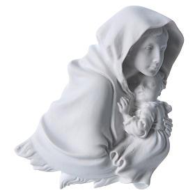 Madonna del Ferruzzi 15 cm rilievo marmo s1