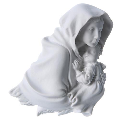 Madonna del Ferruzzi 15 cm rilievo marmo 1