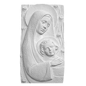 Madonna con bambino cm 31 rilievo s1