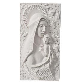 Madonna con bimbo cm 30 rilievo s1