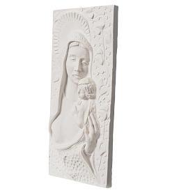 Madonna con bimbo cm 30 rilievo s2