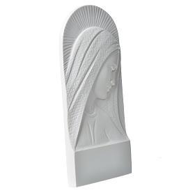 Rostro de María en relieve 11 cm s2