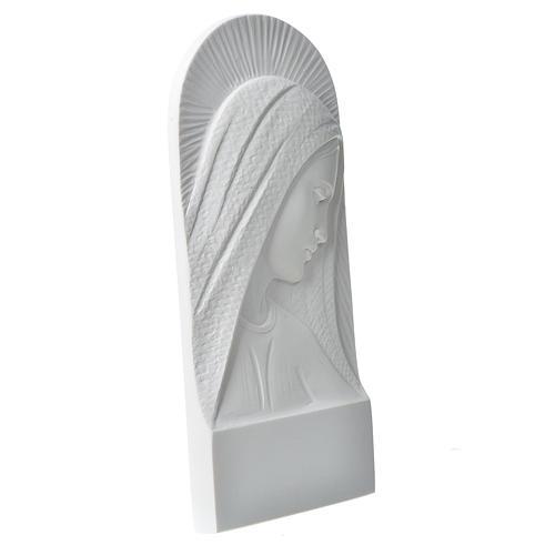 Rostro de María en relieve 11 cm 2