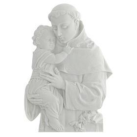 San Antonio de Padua 32 cm, de mármol sintético