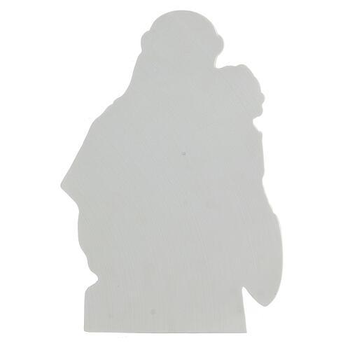 Sant'Antonio da Padova rilievo marmo 32 cm 4
