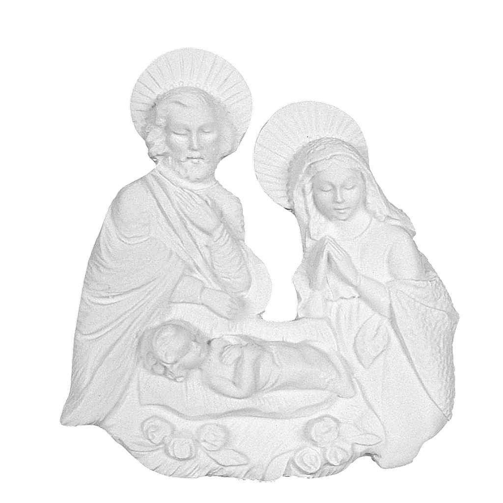 Applique Sainte Famille marbre reconstitué 3