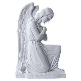 Anioł ramiona skrzyżowane relief 25 cm s1