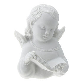 Angioletto con libro rilievo 13 cm s1