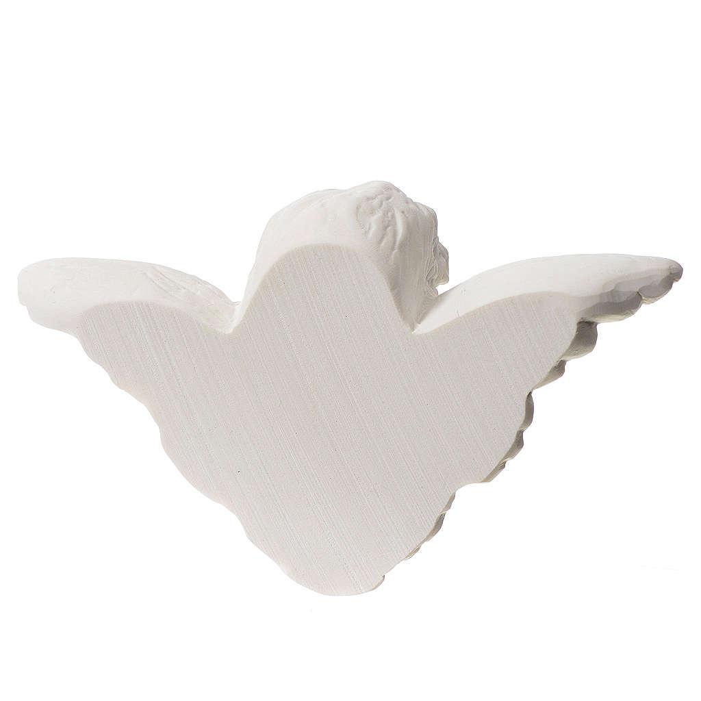 Testa angelo 13 marmo sintetico 3