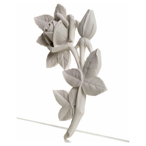 Rosa 11 cm marmo per applicazioni 2