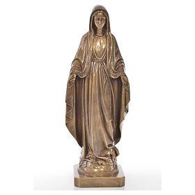 Miracolosa 50 cm marmo finitura bronzata s1