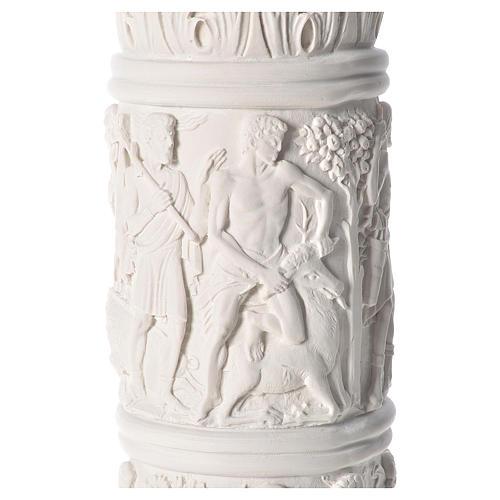 Pilier décoré marbre reconstitué, 80 cm 6