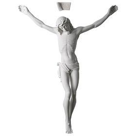 Imagens em Pó de Mármore de Carrara: Corpo de Cristo mármore sintético 60 cm