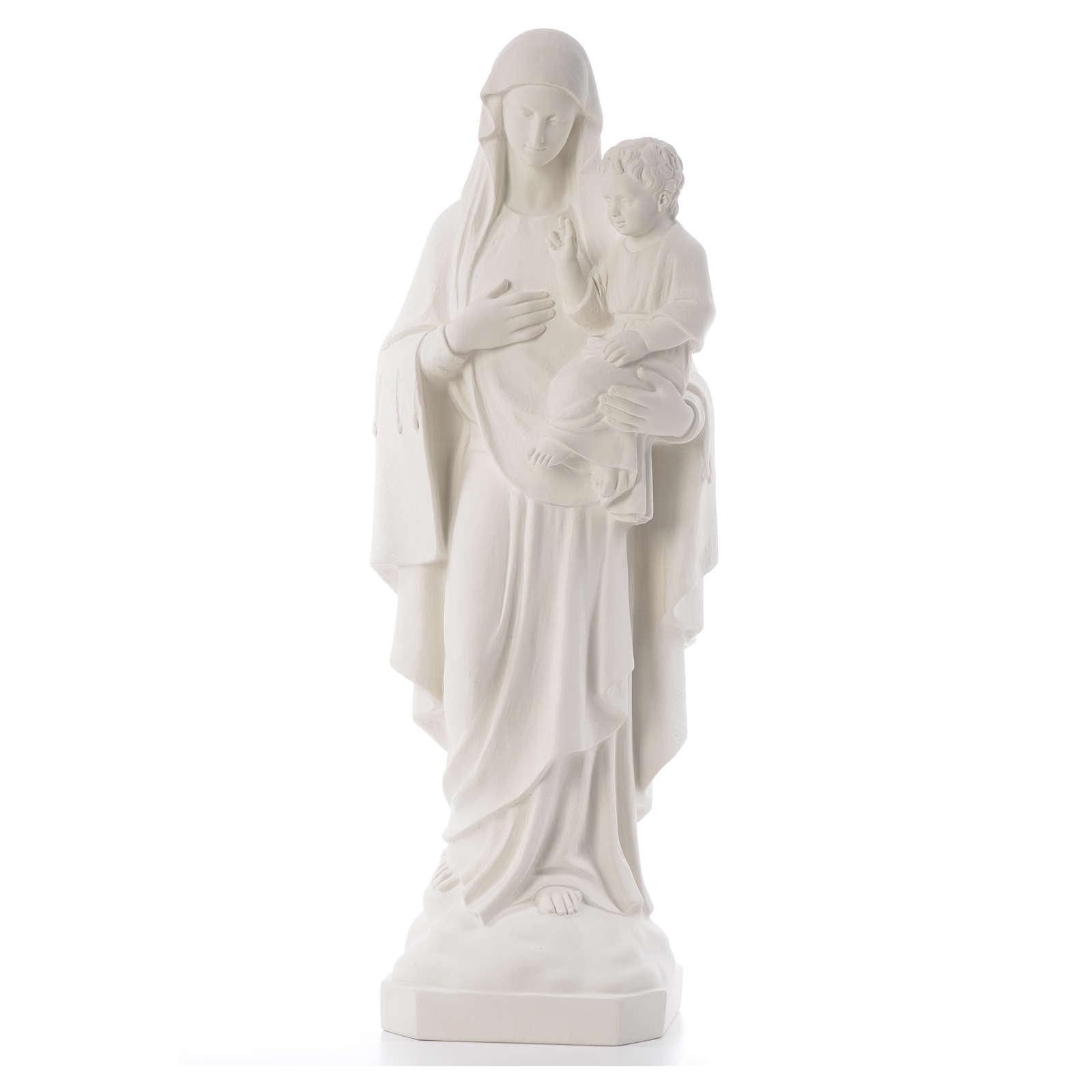 Virgen de la Consolación 80 cm mármol sintético 4